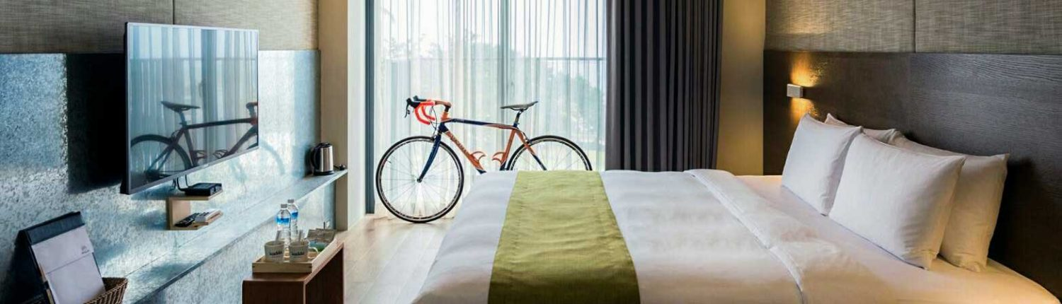 Bike-Friendly Places to Stay
